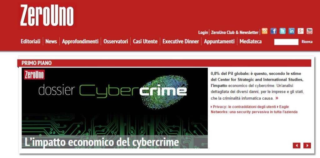 zerouno cybercrime